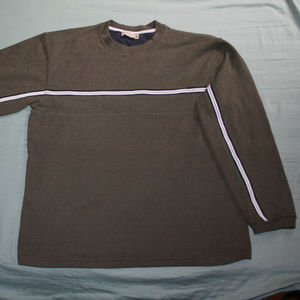 New Retrofit Large Olive Green  Pullover sweater